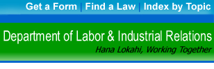 Department of Labor & Industrial Relations